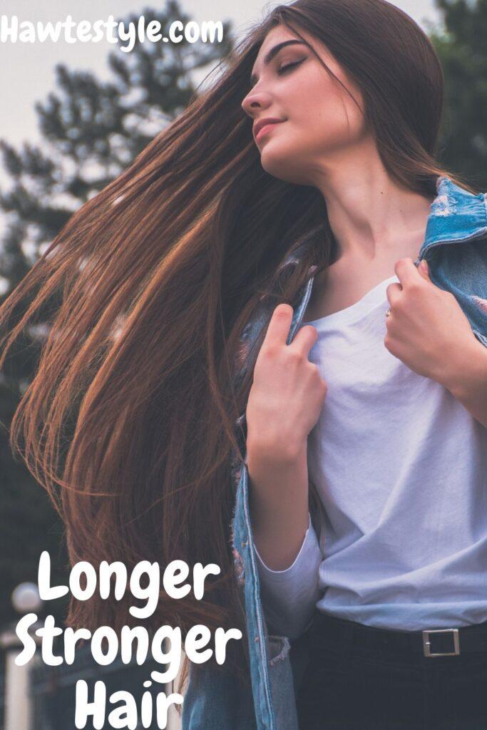 Longer, stronger, Healthier.