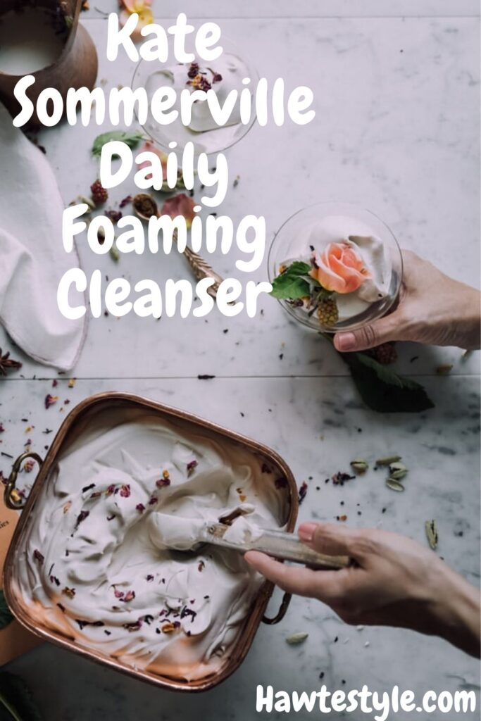 Daily foaming cleanser for acne prone skin