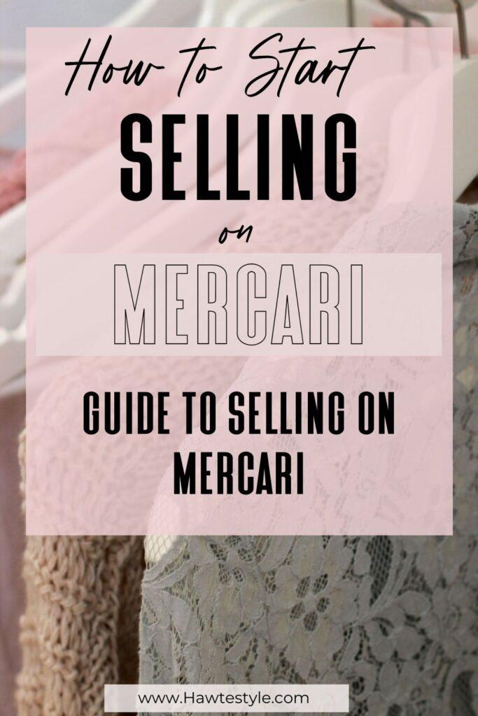 Mercari for beginners. Starting on Mercari.