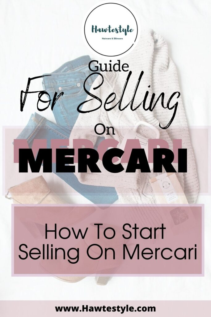Guide for selling on Mercari. How to Start selling on Mercari.