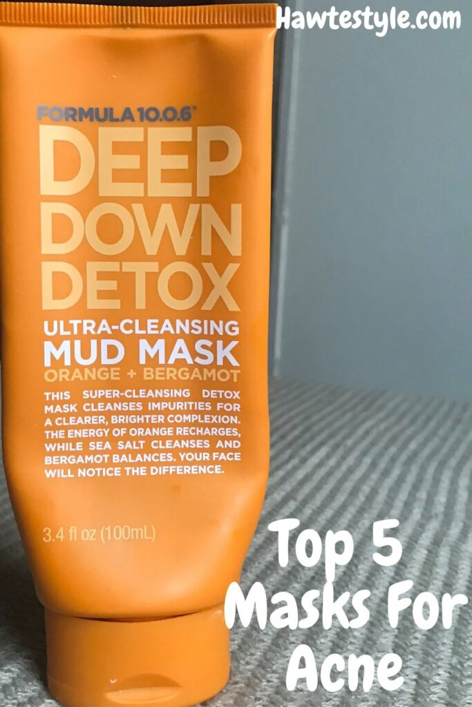Top 5 masks for acne prone skin